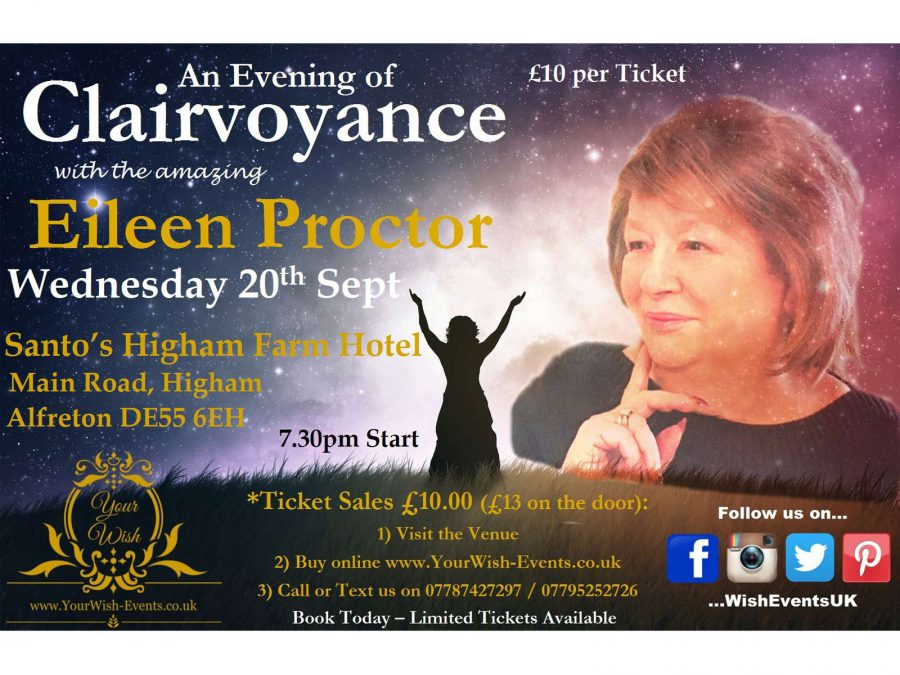 Psychic / Clairvoyance Evening with Eileen Proctor